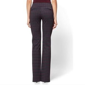 NWT NY&CO Tall Pull-On Plaid Pant🌻